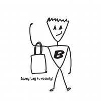 Bagman©: Cloth Bags Campaign (Copy and Illustrations)