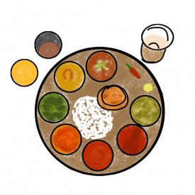 An Illustrated Guide: Indian food